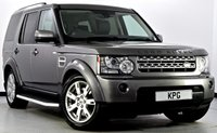 USED 2010 59 LAND ROVER DISCOVERY 4 3.0 TD V6 XS 4X4 5dr Auto Full Land Rover Service Record