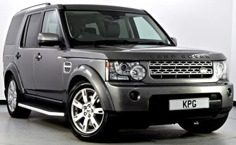 2010 LAND ROVER DISCOVERY 4 3.0 TD V6 XS 4X4 5dr Auto £16995.00
