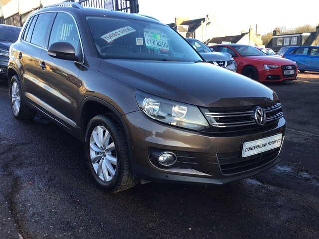 USED 2014 14 VOLKSWAGEN TIGUAN 2.0 MATCH TDI BLUEMOTION TECHNOLOGY 4MOTION 5d 139 BHP ++FOR FULL DETAILS CALL JOHN ON 07972385205++