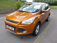 USED 2015 65 FORD KUGA 2.0 ZETEC TDCI 5d 148 BHP ++1 OWNER FROM NEW  WITH FULL FORD SERVICE RECORD++