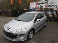 USED 2008 58 PEUGEOT 308 1.6 S 5d 118 BHP FINANCE AVAILABLE FROM £23 PER WEEK OVER TWO YEARS - SEE FINANCE LINK