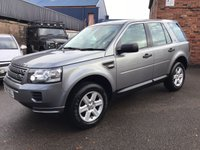 2013 LAND ROVER FREELANDER 2.2 TD4 GS 5d 150 BHP £13450.00