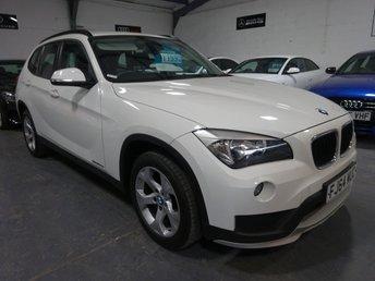 2015 BMW X1 2.0 SDRIVE20D EFFICIENTDYNAMICS BUSINESS 5d 161 BHP £SOLD