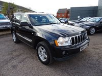2007 JEEP GRAND CHEROKEE 3.0 V6 CRD LIMITED 5d AUTO 215 BHP £4990.00