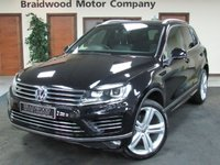 USED 2017 17 VOLKSWAGEN TOUAREG 3.0 V6 R-LINE PLUS TDI BLUEMOTION TECHNOLOGY 5d AUTO 259 BHP