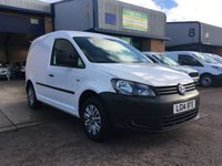 2014 VOLKSWAGEN CADDY 1.6 C20 TDI STARTLINE BLUEMOTION TECHNOLOGY 1d 74 BHP £5750.00