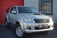 USED 2014 14 TOYOTA HI-LUX 3.0 INVINCIBLE 4X4 D-4D DCB 1d AUTO 169 BHP