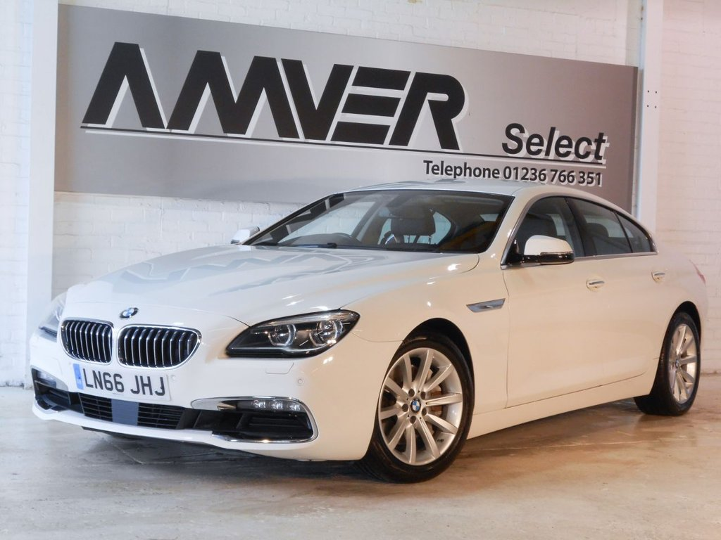 USED 2016 66 BMW 6 SERIES 3.0 640D SE GRAN COUPE 4d AUTO 309 BHP