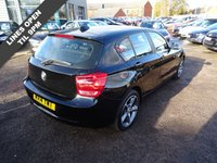 USED 2014 14 BMW 1 SERIES 1.6 114D SE 5d 94 BHP IN CAR BMW SERVICE HISTORY     USB & AUX DOC'S