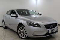 USED 2014 14 VOLVO V40 2.0 D3 SE LUX NAV 5DR AUTOMATIC 148 BHP SERVICE HISTORY + HEATED LEATHER SEATS + SATELLIT NAVIGATION + PARKING SENSOR + BLUETOOTH + CRUISE CONTROL + CLIMATE CONTROL + MULTI FUNCTION WHEEL + 17 INCH ALLOY WHEELS