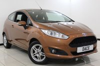 USED 2013 13 FORD FIESTA 1.2 ZETEC 3DR 81 BHP Full Service History FULL SERVICE HISTORY + BLUETOOTH + MULTI FUNCTION WHEEL + AIR CONDITIONING + RADIO/CD + ELECTRIC WINDOWS + 15 INCH ALLOY WHEELS