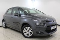 USED 2015 65 CITROEN C4 PICASSO 1.6 BLUEHDI VTR PLUS EAT6 5DR AUTOMATIC 118 BHP 1 Owner Full Service History FULL SERVICE HISTORY + BLUETOOTH + PARKING SENSOR + CRUISE CONTROL + CLIMATE CONTROL + MULTI FUNCTION WHEEL + ALLOY WHEELS