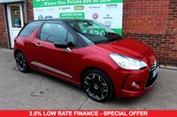 USED 2014 64 CITROEN DS3 1.6 E-HDI DSTYLE PLUS 3d 90 BHP +FREE TAX +LOW MILES +FSH.