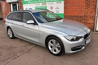 2015 BMW 3 SERIES 2.0 318D SPORT TOURING 5d AUTO 141 BHP £11299.00