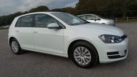 2013 VOLKSWAGEN GOLF 1.4 S TSI BLUEMOTION TECHNOLOGY DSG 5d AUTO 120 BHP £7295.00