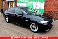 USED 2015 15 BMW 5 SERIES 2.0 520D M SPORT 4d AUTO 188 BHP +Sat Nav +Serviced +LOW Tax.