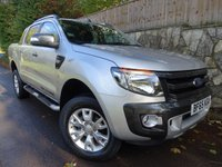 2015 FORD RANGER 3.2 WILDTRAK 4X4 DCB TDCI 1d 197 BHP DOUBLE CAB PICK UP £14495.00
