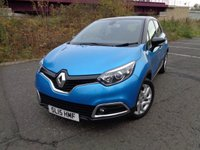 USED 2015 15 RENAULT CAPTUR 1.5 DYNAMIQUE MEDIANAV ENERGY DCI S/S 5d 90 BHP BLUETOOTH + SAT-NAV!!