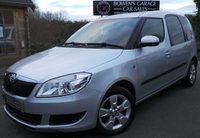 USED 2015 15 SKODA ROOMSTER 1.2 SE TSI 5d 85 BHP 1 Owner from New - 6 Skoda Services - High Spec MPV