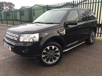 2011 LAND ROVER FREELANDER 2 2.2 SD4 HSE 5d AUTO 190 BHP PAN ROOF SAT NAV LEATHER SIDE STEPS FSH £11490.00
