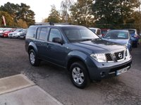 USED 2007 07 NISSAN PATHFINDER 2.5 SE DCI 5d 172 BHP SPACIOUS 7 SEATER DIESEL FAMILY CAR WITH  SERVICE HISTORY, GREAT SPEC, DRIVES SUPERBLY