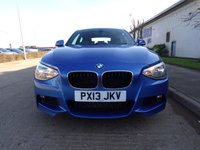 USED 2013 13 BMW 1 SERIES 2.0 118D M SPORT 3d 141 BHP ONLY 56,000 MILES PART EXCHANGE AVAILABLE / ALL CARDS / FINANCE AVAILABLE
