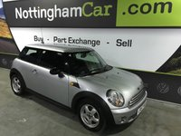 USED 2007 57 MINI HATCH ONE 1.4 ONE 3d 94 BHP GREAT EXAMPLE, FULL SERVICE HISTORY