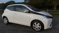 USED 2016 16 TOYOTA AYGO 1.0 VVT-I X-PLAY 5d 69 BHP VEHICLE SPEC : FULL SERVICE HISTORY, CD-PLAYER, BLUE-TOOTH, ELECTRIC WINDOWS, DAB-RADIO, REMOTE LOCKING, REVERSE CAMERA, SUPERB MPG, LOW TAX