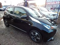 USED 2015 15 TOYOTA AYGO 1.0 VVT-I X-CLUSIV 5d 69 BHP 1 OWNER FROM NEW, F.S.H, 1/2 LEATHER INTERIOR, BLUETOOTH