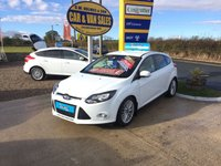 2013 FORD FOCUS ZETEC IN WHITE 1.6 TDCI 5 DOOR **FSH**FIND A CLEANER EXAMPLE** £SOLD