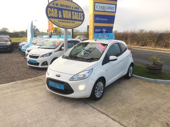 2011 FORD KA ZETEC 1.2 3 DOOR IN WHITE**2 LADY OWNERS**FIND A CLEANER ONE** £3995.00