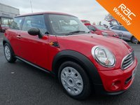 USED 2012 62 MINI HATCH ONE 1.6 ONE 3d AUTO 98 BHP