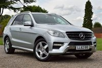 2012 MERCEDES-BENZ M CLASS 2.1 ML250 BLUETEC SPORT 5d AUTO 204 BHP £19995.00