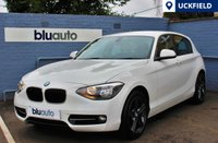 USED 2013 63 BMW 116 i SPORT 5d  Full BMW Service History, Bluetooth Connectivity, 17 Inch Alloy Wheels, DAB Radio, Auto Lights & Wipers, USB & AUX
