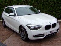 2014 BMW 1 SERIES 1.6 116I SPORT 3d 135 BHP £9975.00