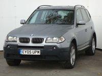 2005 BMW X3 2.5 SPORT 5d AUTO 190 BHP £3499.00