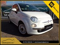 USED 2012 12 FIAT 500 1.2 LOUNGE DUALOGIC 3d AUTO 69 BHP RARE AUTOMATIC 1 OWNER PART EXCHANGE AVAILABLE / ALL CARDS / FINANCE AVAILABLE