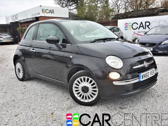 View our 2010 60 FIAT 500 1.2 LOUNGE DUALOGIC 3d AUTO 69 BHP