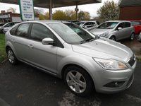 USED 2008 58 FORD FOCUS 1.6 STYLE 5d 100 BHP 8 SERVICE STAMPS
