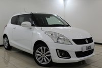 USED 2015 15 SUZUKI SWIFT 1.2 SZ4 3DR 94 BHP 1 Owner Full Service History  FULL SERVICE HISTORY + SATELLITE NAVIGATION + BLUETOOTH + CRUISE CONTROL + CLIMATE CONTROL + MULTI FUNCTION WHEEL + 16 INCH ALLOY WHEELS
