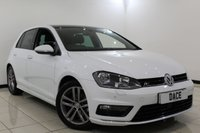 USED 2017 17 VOLKSWAGEN GOLF 1.4 R LINE EDITION TSI ACT BMT DSG 5DR AUTOMATIC 148 BHP 1 Owner Full Service History FULL SERVICE HISTORY + SATELLITE NAVIGATION + HEATED SEATS + SUNROOF + PARKING SENSOR + BLUETOOTH + CRUISE CONTROL + MULTI FUNCTION WHEEL + DAB RADIO + 17 INCH ALLOY WHEELS