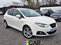 2012 SEAT IBIZA 1.4 SE COPA 5d 85 BHP £3995.00