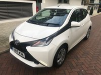 USED 2015 15 TOYOTA AYGO 1.0 VVT-I X-PLAY X-SHIFT 5d AUTO 69 BHP