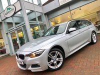 USED 2014 14 BMW 3 SERIES 2.0 320D XDRIVE M SPORT TOURING 5d AUTO 181 BHP