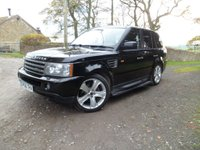 USED 2006 56 LAND ROVER RANGE ROVER SPORT 2.7 TDV6 HSE 5d AUTO 188 BHP FANTASTIC CONDITION. NEW TIMING BELT. NEW COMPRESSOR. FULLY SERVICED. 12 MONTHS MOT.SAT NAV. XENON LIGHTS