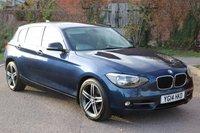 2014 BMW 1 SERIES 2.0 120D SPORT 5d AUTO 181 BHP £10395.00