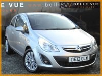 USED 2012 12 VAUXHALL CORSA 1.2 ACTIVE AC CDTI ECOFLEX 3d 74 BHP *STUNNING CONDITION, £30 ROAD TAX*
