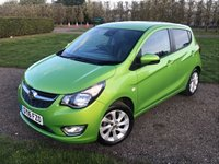 USED 2016 16 VAUXHALL VIVA 1.0 SL 5d 74 BHP Full Vauxhall History, MOT 11/19, Mint Example  Full Vauxhall Service History, MOT 11/19, Recent Service, Mint Unmarked Example, Bluetooth Handsfree And Media Streaming, Cruise Control, Stop Start, X2 Keys, Full Carpet Mat Set, Leather Upholstery, Climate Aircon, City Steering, Ful, Onboard Trip Computer, Leather Steering Wheel, £20 Per Year Road Tax, Alloys, X4 Matching Continental Tyres, Ideal 1st Car Or Family Runabout, You Will Not Be Dissapointed, RARE Colour, Drives And Looks Superb,