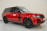 2016 LAND ROVER RANGE ROVER 3.0 TDV6 VOGUE SE 5d AUTO 255 BHP HUGE SPECIFICATION