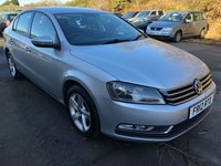 2012 VOLKSWAGEN PASSAT 2.0 S TDI BLUEMOTION TECHNOLOGY 4d 139 BHP £6000.00